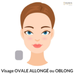 Visagisme coiffure visage allongé ou oblong relooking