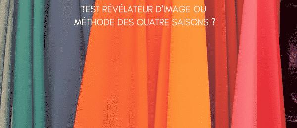 Colorimétrie : T.R.I. Test révélateur d'image ou méthode des quatre saisons?