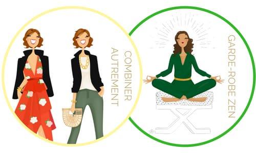Formations en ligne Garde-robe idéale Style assortir les vêtements autrement