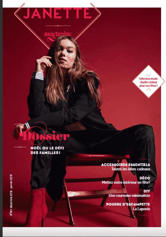 Janette Magazine Décembre 2018