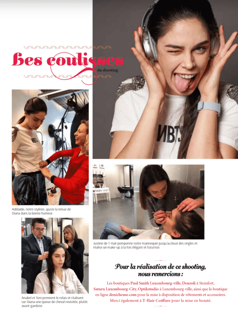 STYLISME PHOTO FEV 2019 Magazine Janette Luxembourg Adelaide Dubucq styliste photo reportage mode Inspiration ultra connectée
