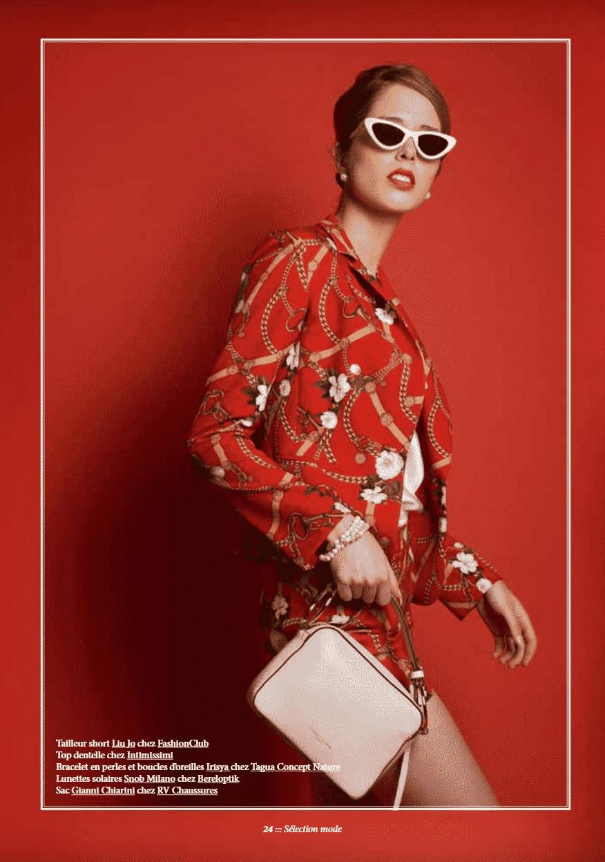Dolce vita dossier mode Janette Magazine stylisme photo Adelaide Dubucq