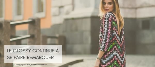 Glossy shiny sequins brillants tendance automne hiver 2020
