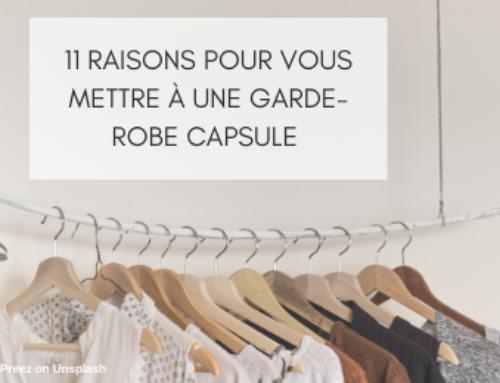11 raisons pour vous mettre à la garde-robe capsule